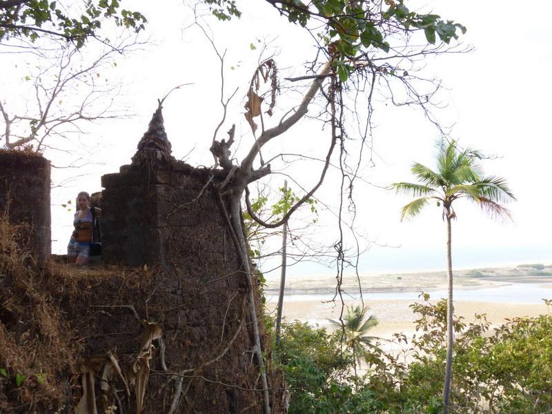 GOA – Maharashtra, Redi fort