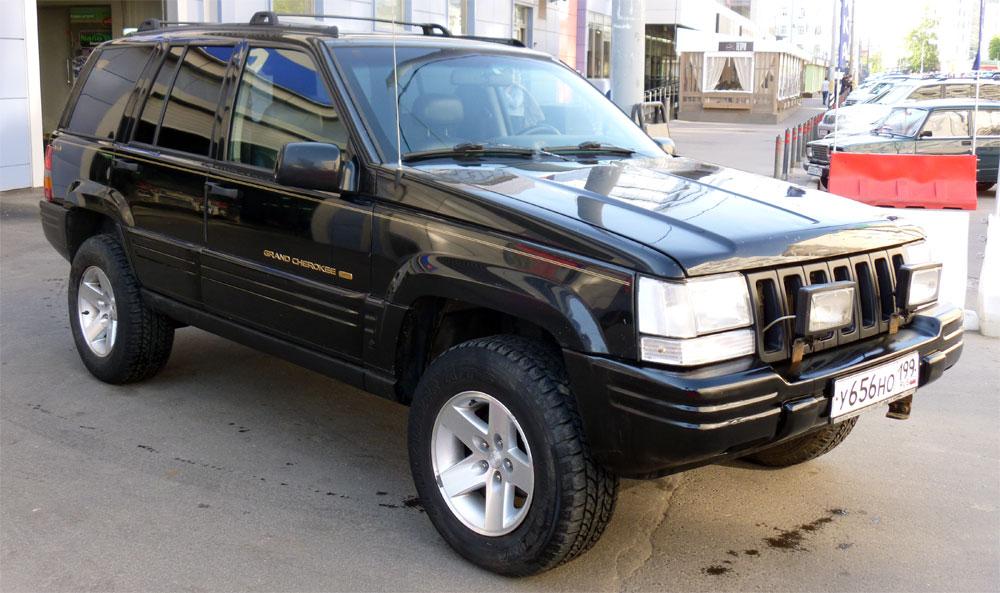 первый Jeep Grand Cherokee
