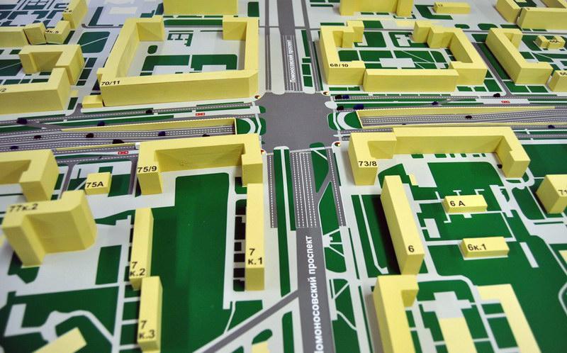 План реконструкции Ленинского проспекта.