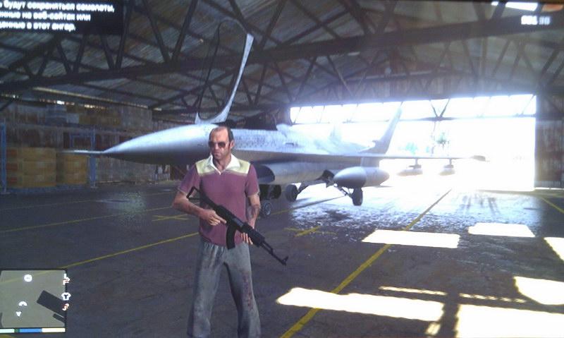 В игре GTA V обнаружили секретную военную базу на