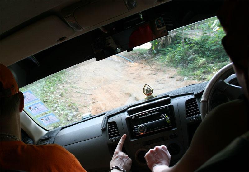Трип на машине по Пангану.