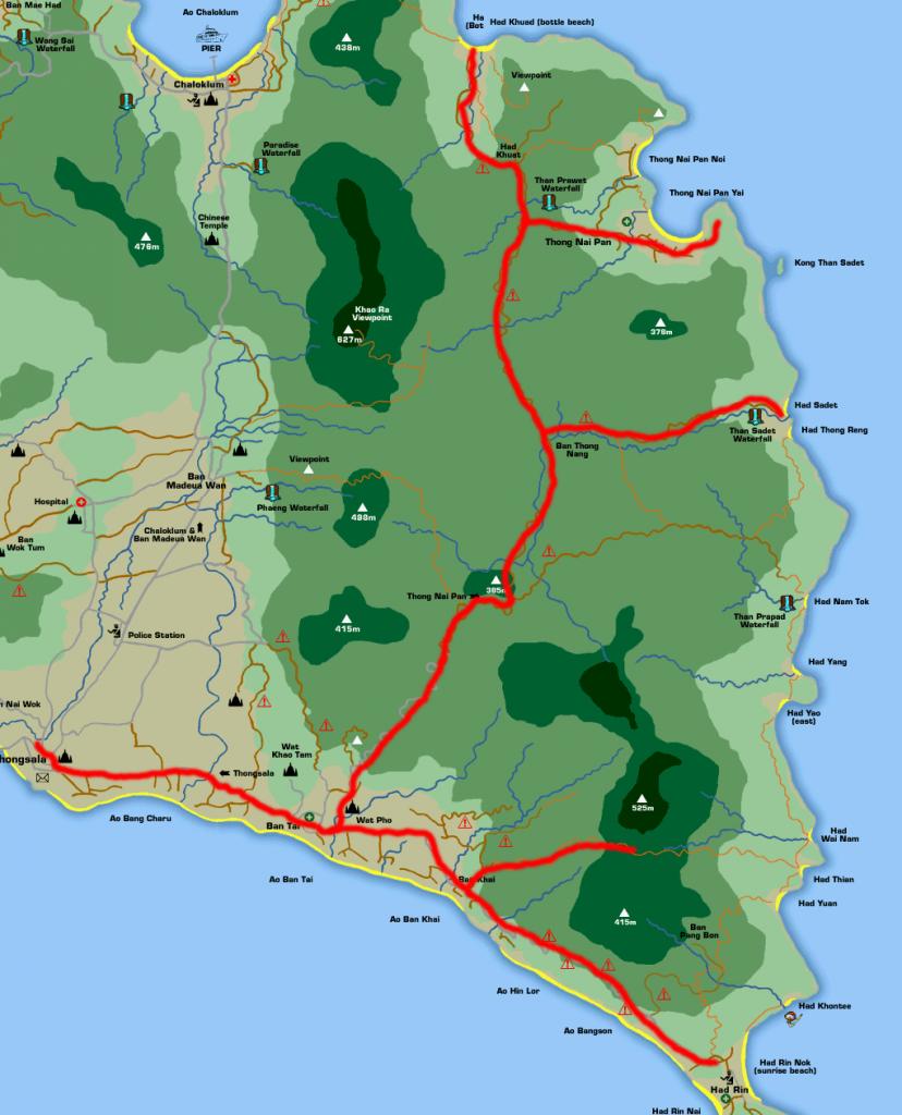Примерная схема поездки