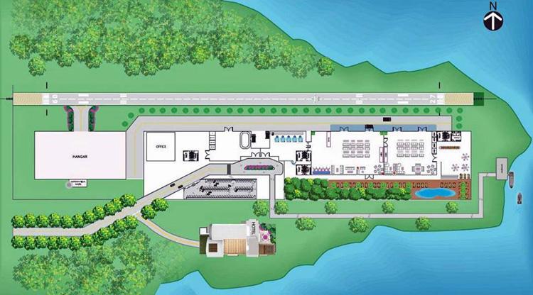 Аэропорт на Пангане - Koh Phangan Airport, планируемая дата завершения строительства, место, фото.