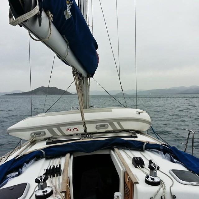 Немного фоток и маршрут яхтинга на майских 2014: Фетхие, Cold water bay, Gocek, Ekincik, Sarsala Sahili.