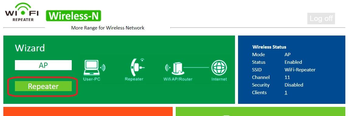 EASYIDEA Wi-Fi repeater 802.11n/b/g Wi-Fi настройка ретранслятора/репитера